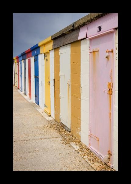 Beach Huts by nickhawk