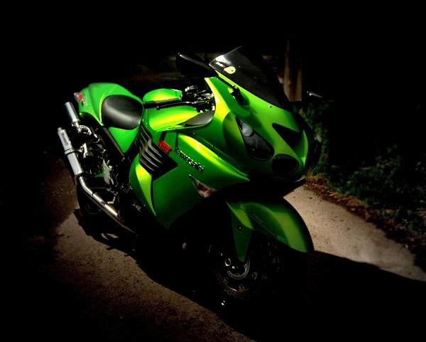 Kawasaki Ninja NOS by fletchphoto