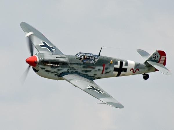 Messerschmitt Bf 109 by kenbishop