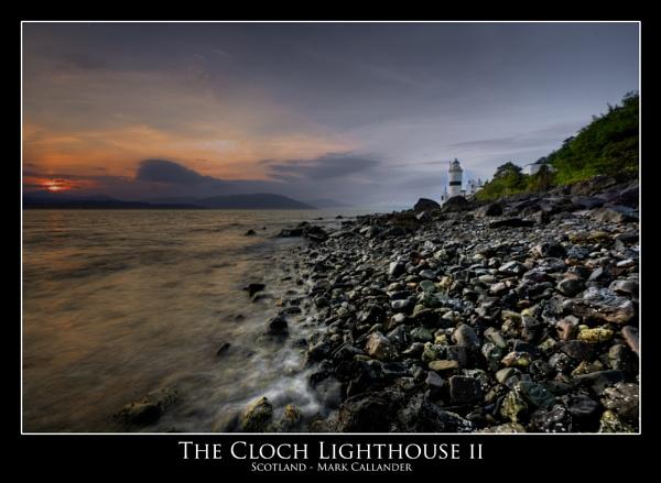 Sunset The Cloch Lighthouse by Mark_Callander