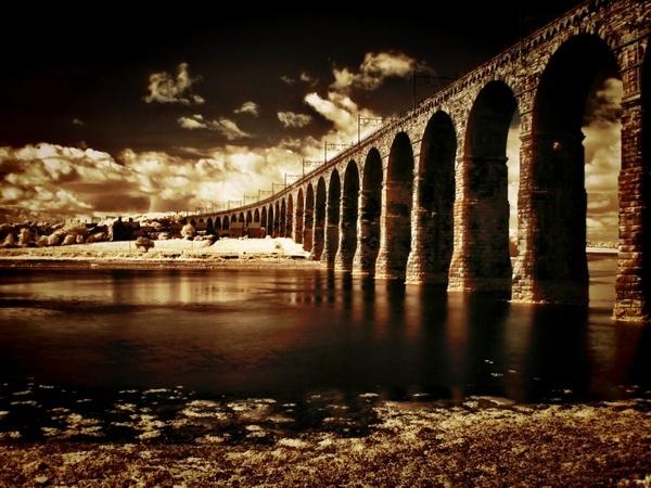 old bridge by davidreece