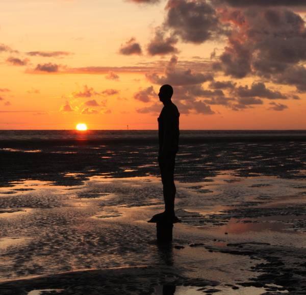 Sunset in Crosby by SandiR