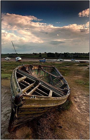 Alnmouth Boat by john short