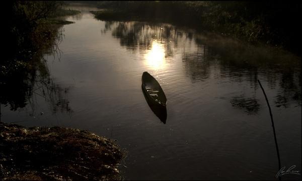 Solo Canoe by terminalfunk