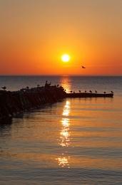 Orange and Blue Sunrise