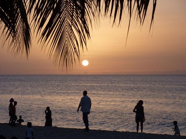 Caribbean Sunset by biggus