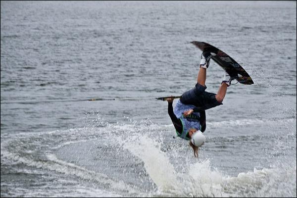 Making a splash at Wakestock by ednys