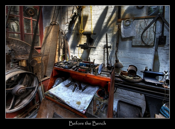 Before the Bench by RogBrown