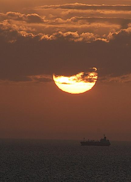 sun rise by chris-plumb