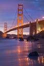 Golden Gate Dusk by stephenoachs