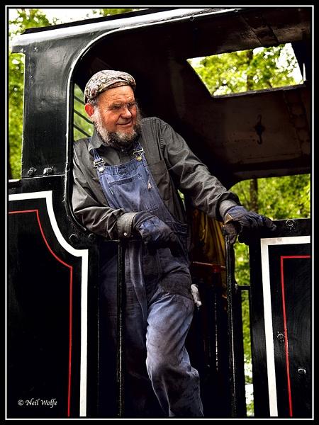 Mr Train Driver by lobo_blanco