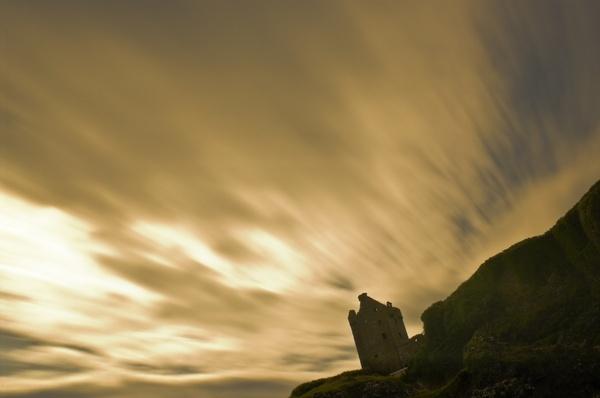 Gylen Castle by abesad