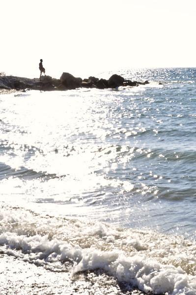 Aegean Sea at Dawn by Lobster