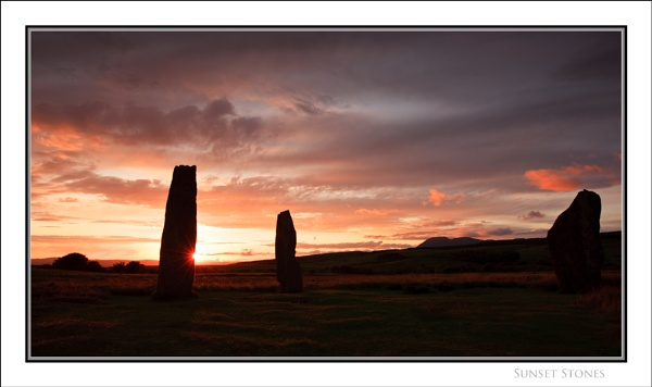 Sunset Stones... by Scottishlandscapes