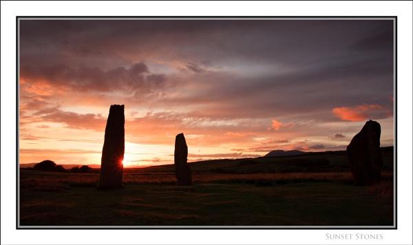 Sunset Stones... by Scottishlandscapes