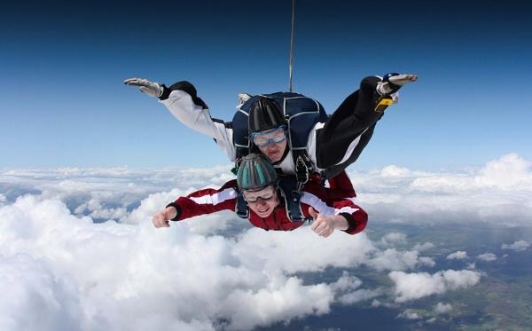 Tandem by skydivemike