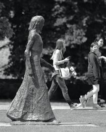 Walking with Elizabeth Frink