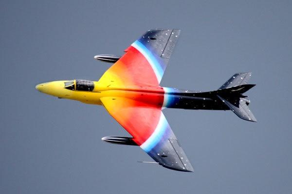 Hawker Hunter by marathonman