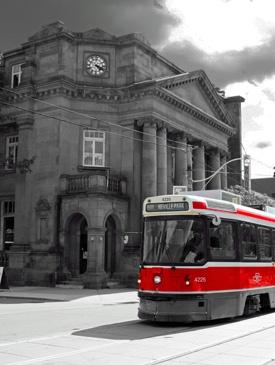 Queen Street Streetcar, Toronto by Rob_McG