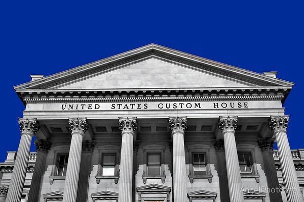 US Custom House by AngelPhoto