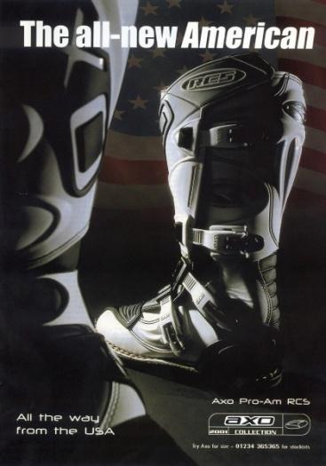 AXO boots advert by VicBarnes