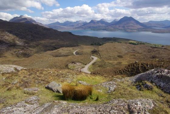 Upper Loch Torridon by VicBarnes