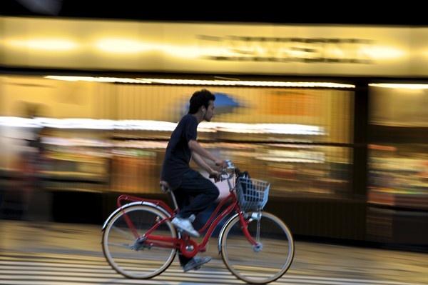 Kyoto Cyclist by bwillik