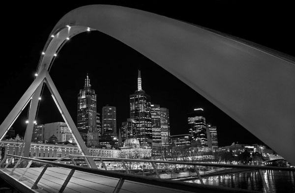 Bridge Over Yarra River by lesleywilliamson