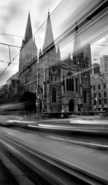 St Paul\'s Tram by lesleywilliamson