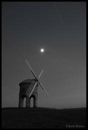 Chesterton Windmill Black  White
