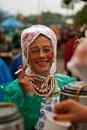 Glastonbury tea lady