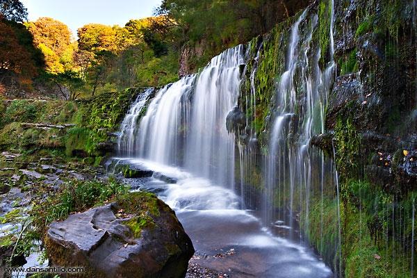 Sgwd Isaf Clun-gwyn Waterfall by dasantillo