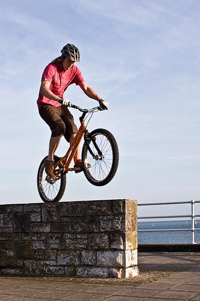 Bike acrobat! by Snaphappyannie