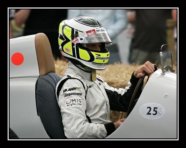 Jenson Button\'s Silver Arrow by sidaorb