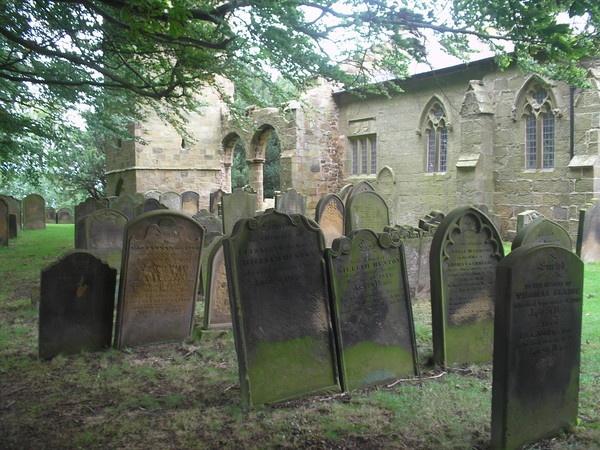 \'Ye Olde Gravestones\' by sakisuki