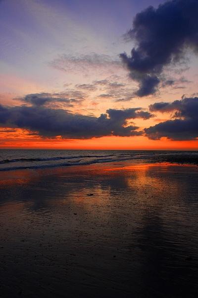 Sunset Reflection by Stonemushroom