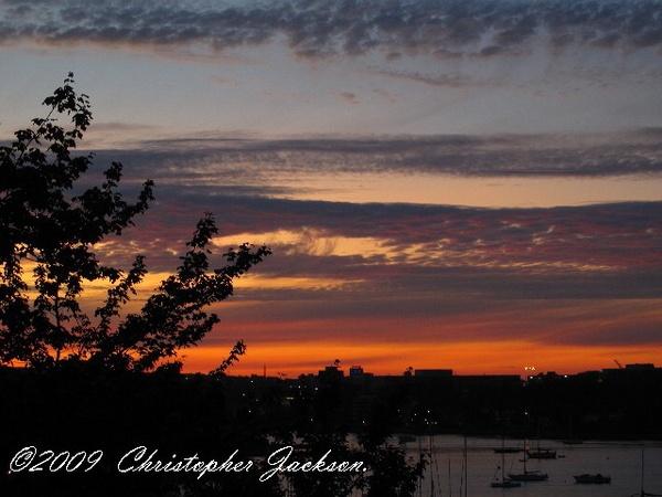 A Fiery Sky by ChrisPhotos145