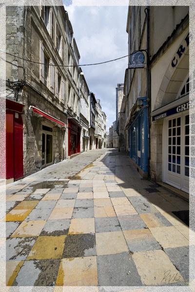 Street in La Rochelle by Doglet