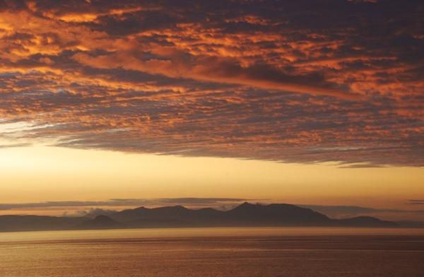 Arran sunset by John45