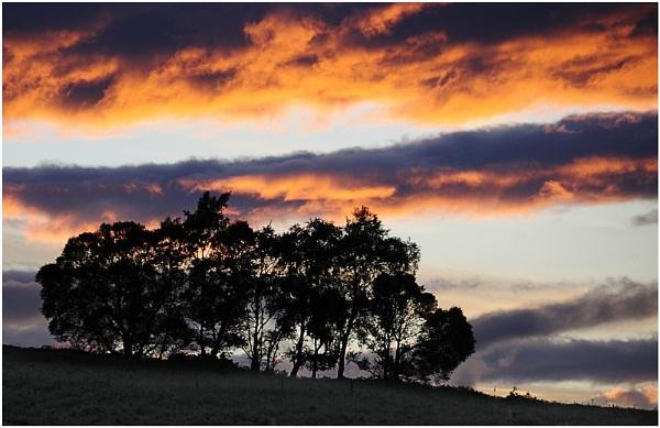 Sunset by Ian Hunter