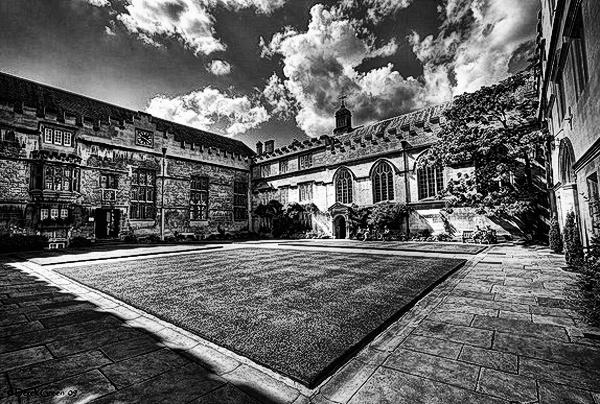 Jesus College Quadrangle by OMG
