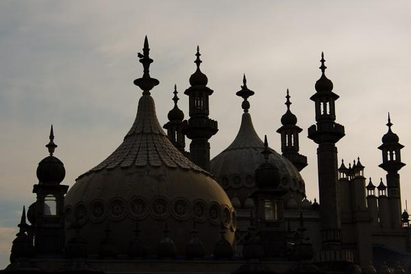 Brighton Royal Pavilion by darrenackers