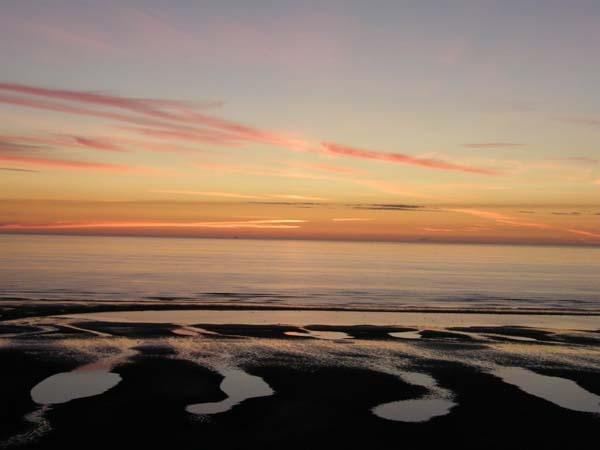 BEACH SUNSET by fleetwoodflyers