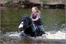 Happy on my horse