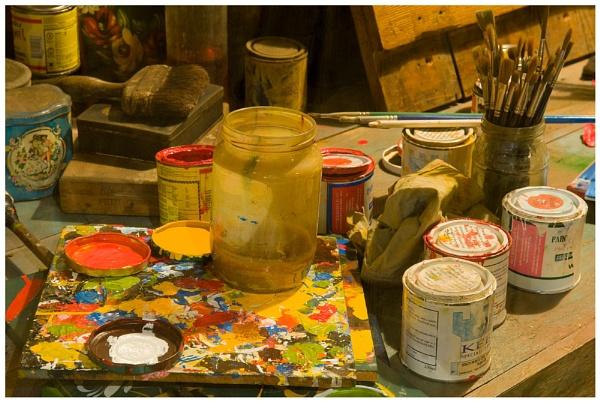 Painter\'s palette by david357