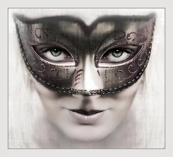 Behind a mask by Vikki_R