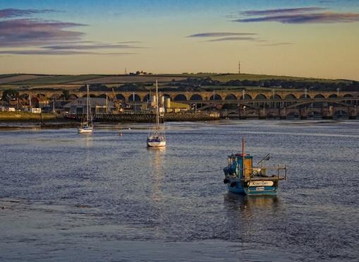Berwick dawn by iangardiner76