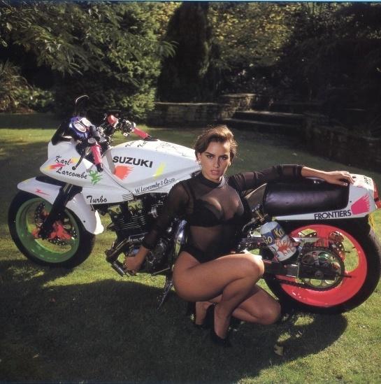 Lisa Bangert 1992 by VicBarnes