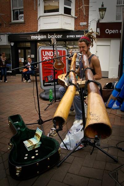 The Didgeridoo Player by CTee