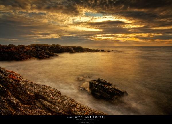 Llangwynadl Sunset by andy210966